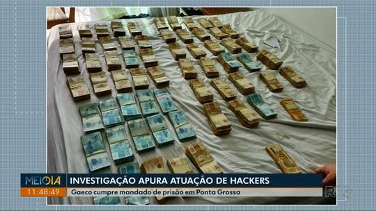 Gaeco cumpre mandado de prisão em Ponta Grossa em operação que investiga hackers