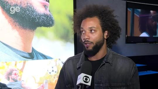 """Fora desde a Copa, Marcelo elogia Tite e diz que """"trabalha todos os dias pensando na Seleção"""""""