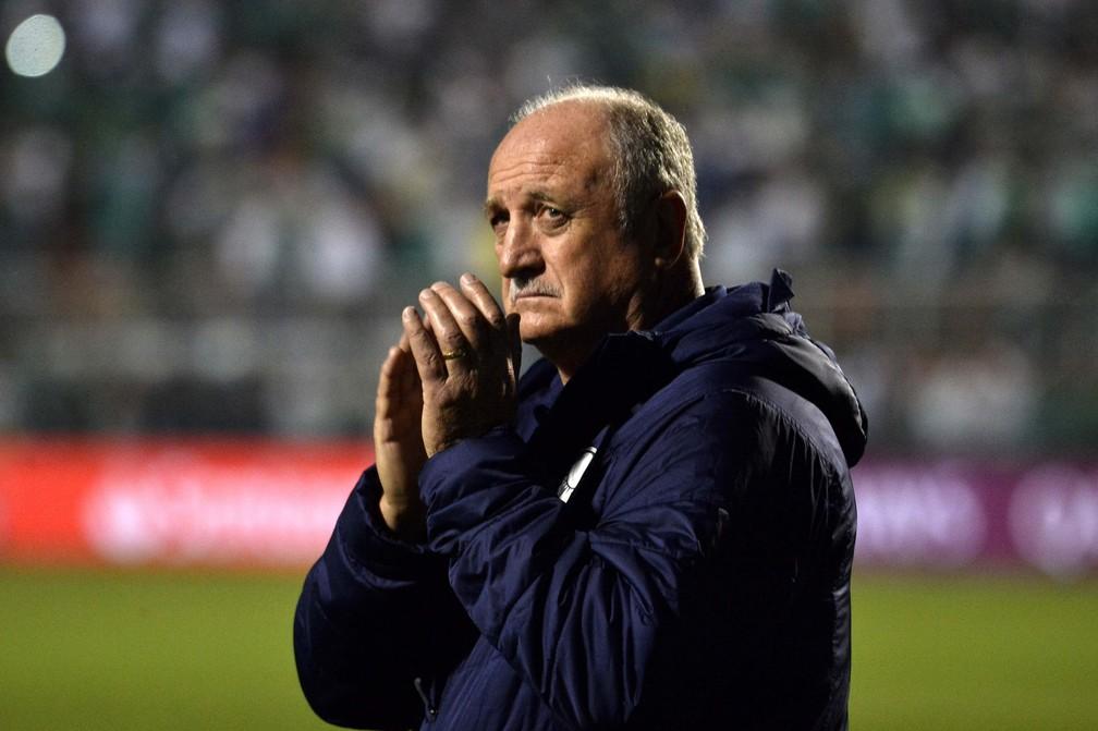 Felipão em Palmeiras x Grêmio â?? Foto: Marcos Ribolli