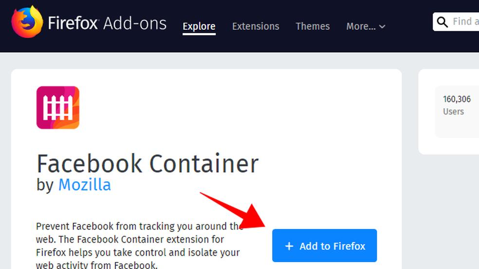 Como impedir que o Facebook rastreie seus dados pelo Firefox