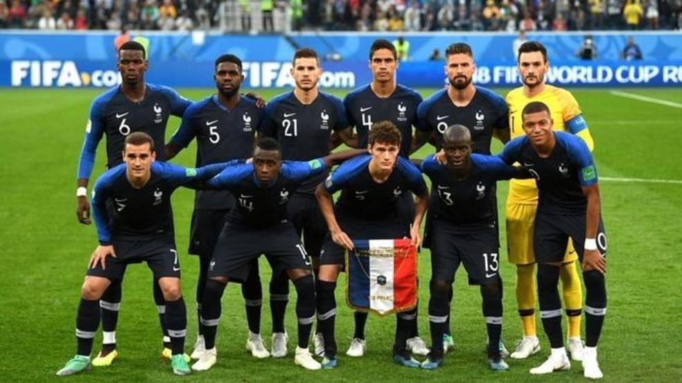 França venceu a Copa da Rússia — Foto: Divulgação/Fifa