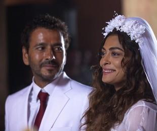 Marcos Palmeira e Juliana Paes como Amadeu e Maria da Paz em 'A dona do pedaço' | Isabella Pinheiro/Gshow