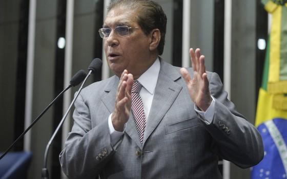 O senador Jader Barbalho (Foto: Moreira Mariz/Agência Senado)