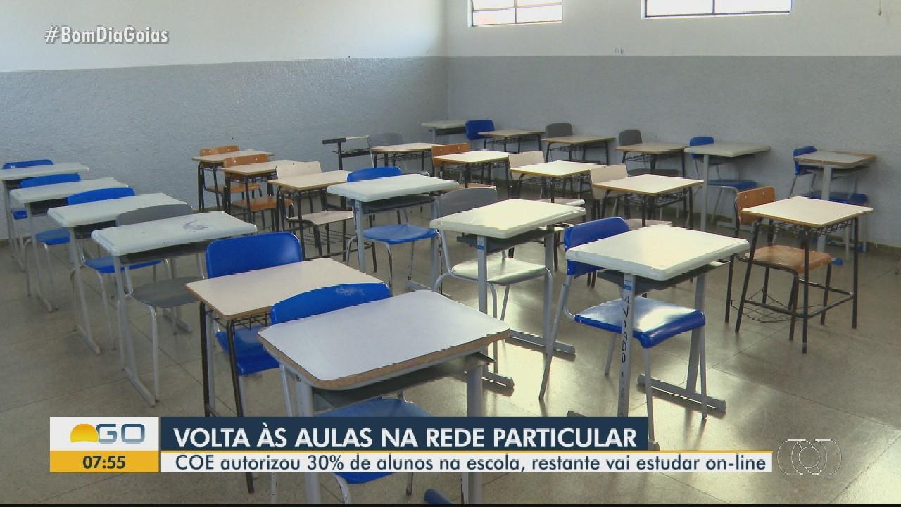 COE autoriza volta às aulas presenciais para 30% de alunos