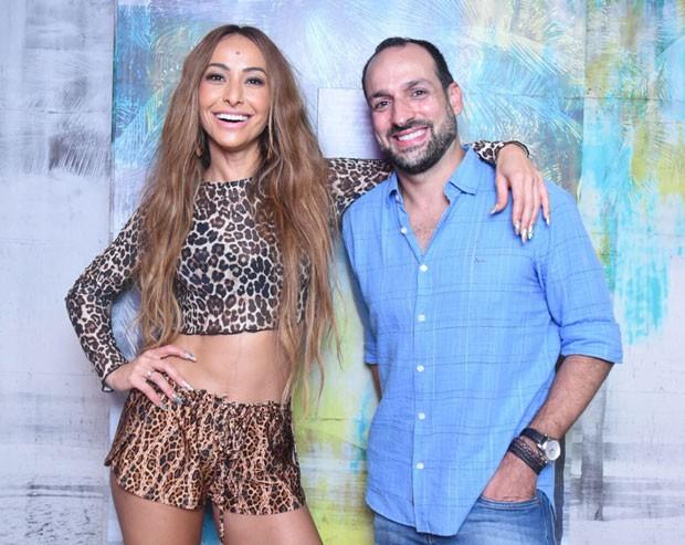 Sabrina Sato com Marcelo Marinho (Foto: Divulgação / Renato Wrobel)