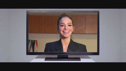 Bruna Marquezine tem um recado para você: o sinal analógico vai acabar!