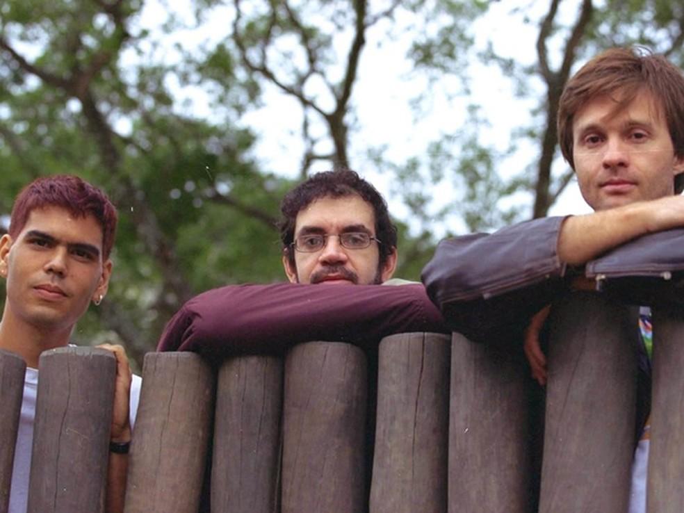 A banda Legião Urbana na juventude dos anos 1980 (Foto: Divulgação)