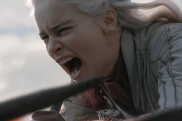 Daenerys bota para quebrar no penúltimo episódio de Game of Thrones (Foto: Divulgação)