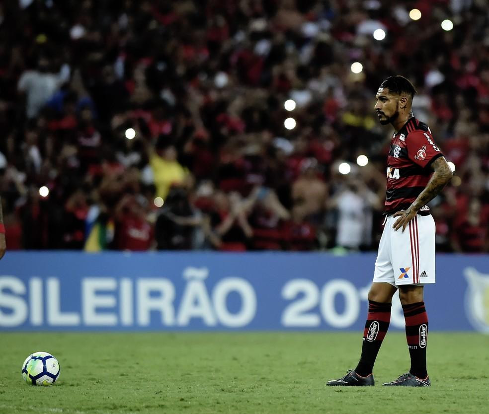Guerrero não deve continuar no Flamengo (Foto: André Durão)