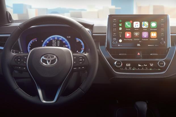 Interior do Toyota Corolla hatch (Foto: Divulgação)