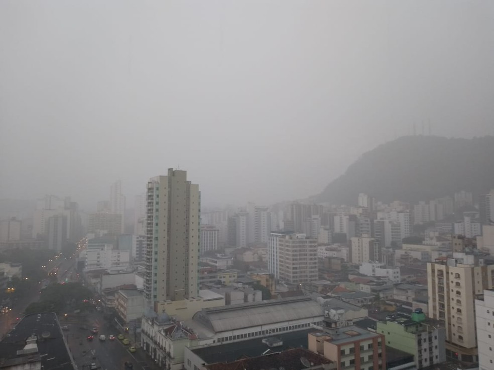 Quinta-feira (29) deve ser nublada e fria em Juiz de Fora — Foto: Fellype Alberto/G1