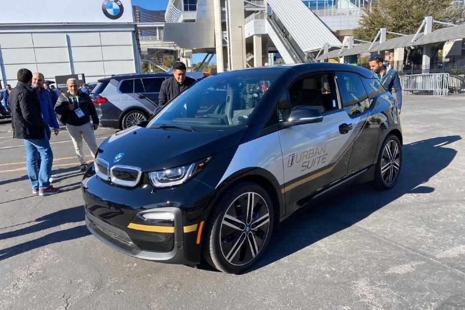 O BMW i3 New Vision (Foto: Michelle Ferreira)