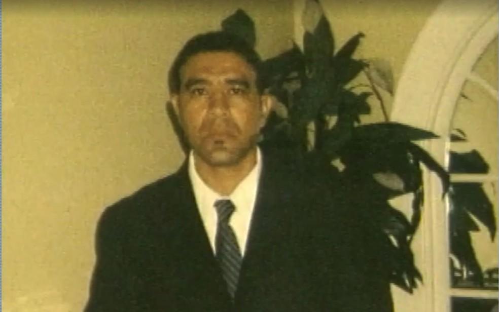 Gilberto Arueira foi morto em Teixeira de Freitas, dentro de uma loja de celulares, após ser confundido com assaltante — Foto: Reprodução/TV Santa Cruz