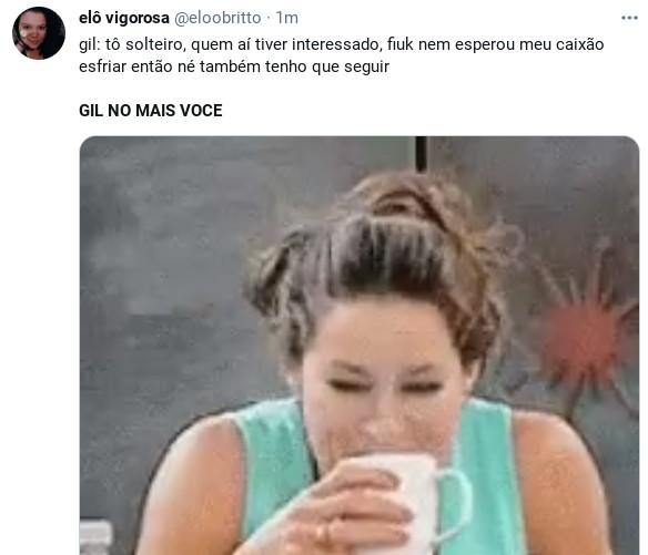 Internauta comenta entrevista de Gil no 'Mais você' (Foto: Reprodução)