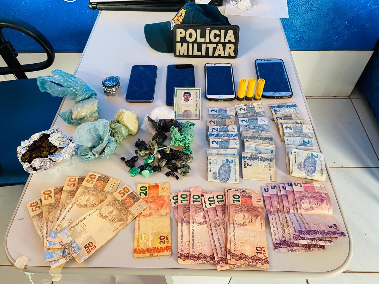 PM flagra joalheria funcionando como ponto de tráfico de drogas em Itaituba, no Pará