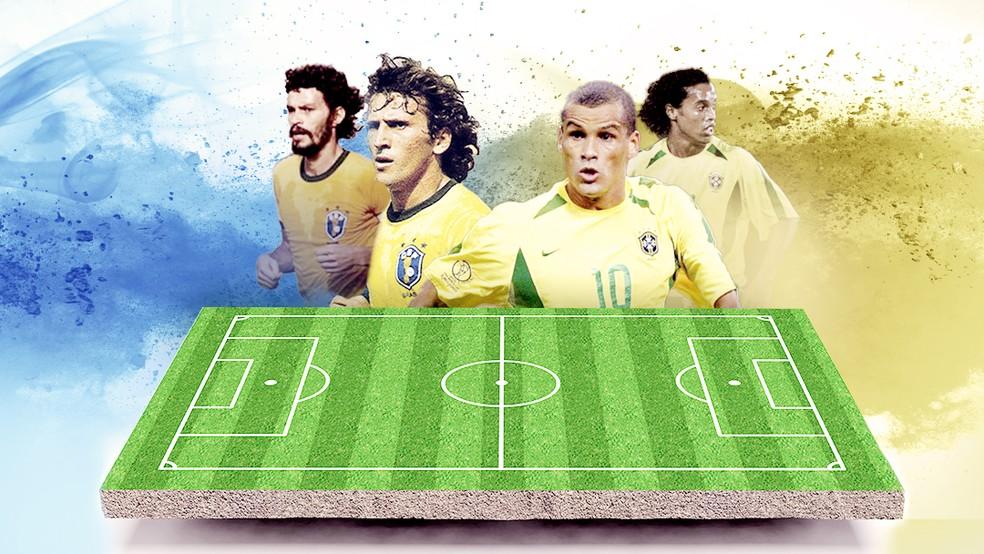 Brasil de 1982 ou de 2002? SporTV e Globo transmitem jogos ...