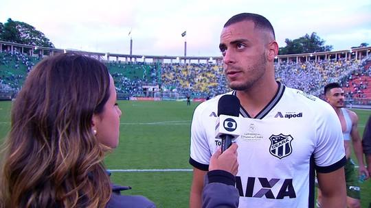 """Arthur analisa partida contra o Palmeiras: """"Fomos castigados com dois gols"""""""
