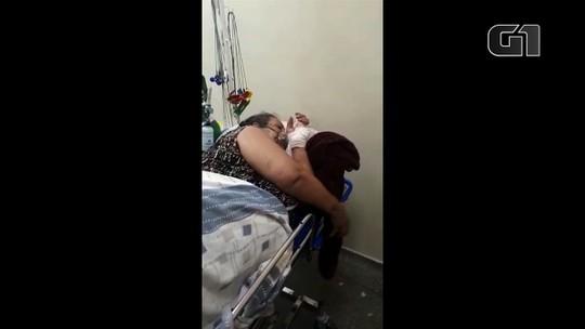 Idosa com dificuldade respiratória aguarda vaga de UTI em Goiânia, diz filha