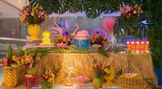 A decoração do chá de lingerie de Tatá Estaniecki (Foto: Reprodução Intagram)