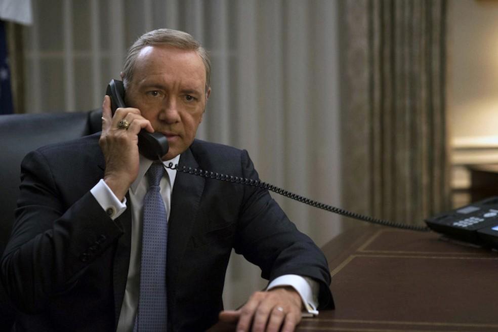 Kevin Spacey, em 'House of cards' (Foto: Divulgação/Netflix)