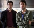 Jonas Marra (Murilo Benício) e Davi (Humberto Carrão) | TV Globo