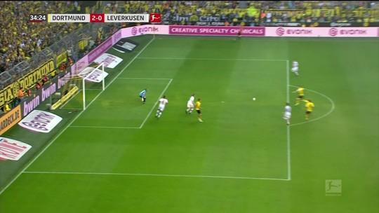Gol de Marco Reus é eleito a pintura do futebol internacional da semana no É Gol!!!