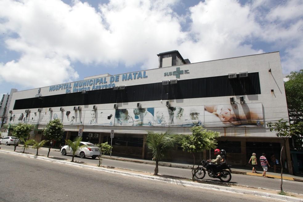 Caso aconteceu no Hospital Municipal de Natal — Foto: Alex Régis