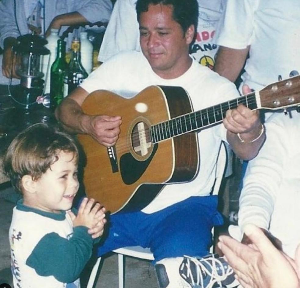 Leonardo e Zé Felipe — Foto: Reprodução/Instagram