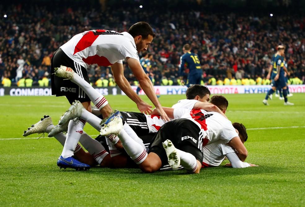 River Plate x Boca Juniors Final Libertadores Santiago Bernabéu ? Foto: REUTERS/Juan Medina