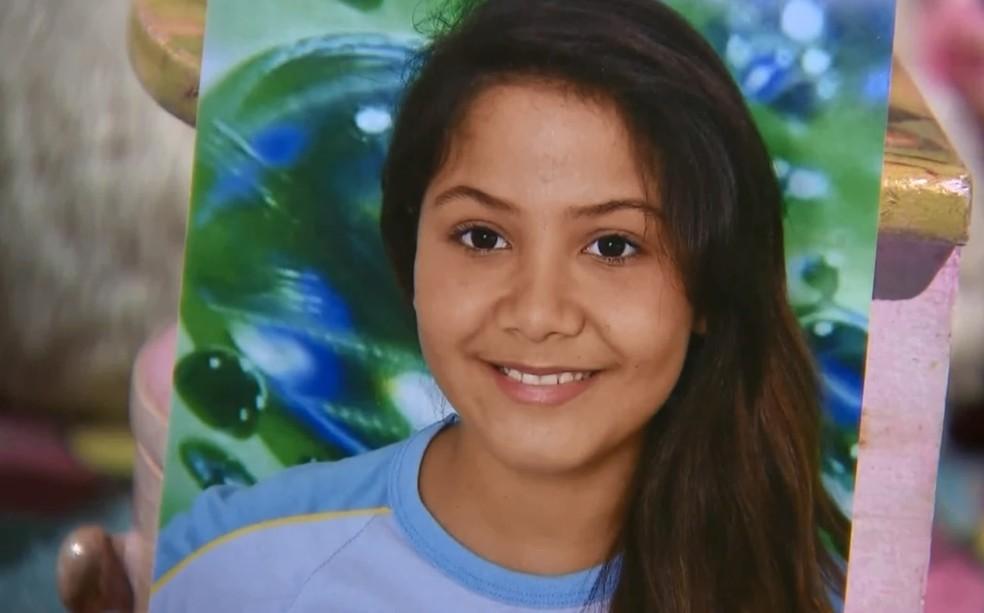 Polícia Civil investiga morte da estudante Vitória Gabrielly — Foto: Reprodução/TV TEM
