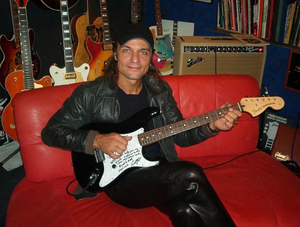 Matthias Jabs, guitarrista do Scorpions — Foto: Divulgação/Klotz