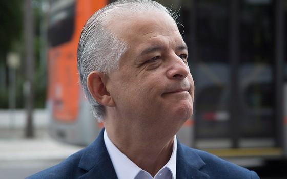 O governador de São Paulo, Márcio França (PSB), liderava a resistência no partido à candidatura de Joaquim Barbosa. Herdeiro de Alckmin no cargo, ele aposta as fichas no tucano (Foto: MISTER SHADOW/ASI/AGÊNCIA O GLOBO)