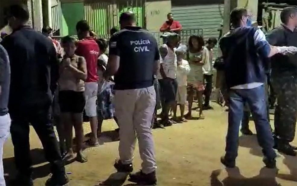 Troca de tiros entre facções deixa três mortos em Itabuna — Foto: Reprodução/Blog Verdinho Itabuna