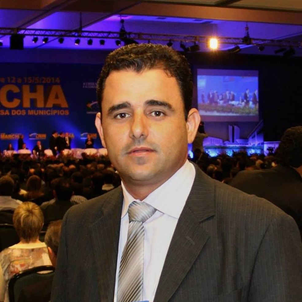 Wemerson Adão Prata (PP), prefeito de Salto do Céu — Foto: Facebook/Reprodução