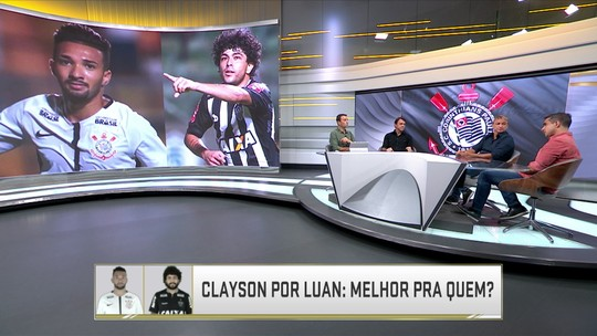 Clayson no Galo x Luan no Corinthians: Melhor para quem?