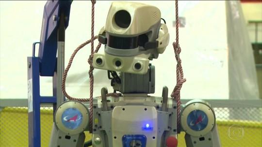 Rússia envia robô à Estação Espacial Internacional