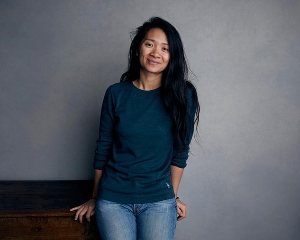 A diretora Chloé Zhao — Foto: Divulgação