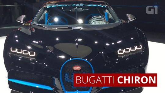 VÍDEO: Bugatti Chiron faz 0-400-0 em 42s e busca recorde mundial em 2018