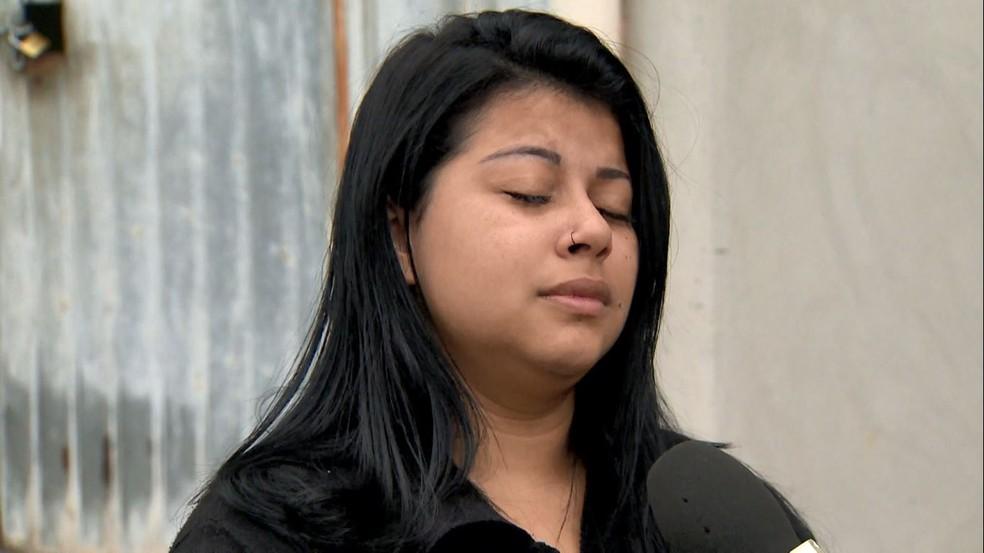 Luana contou que também era abusada sexualmente pelo pai — Foto: Reprodução/TV Gazeta
