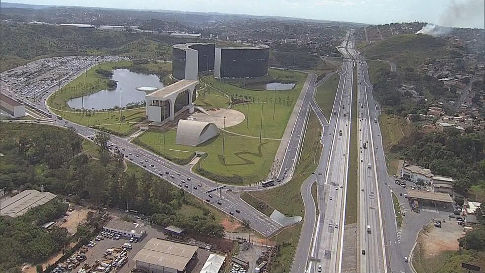 Cidade Administrativa — Foto: TV Globo/Reprodução