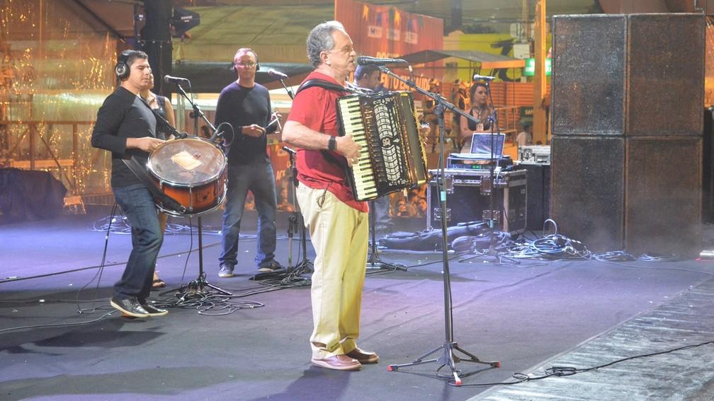Flávio José se apresenta em João Pessoa no dia 6 de agosto (Foto: Kamylla Lima/G1/Arquivo)