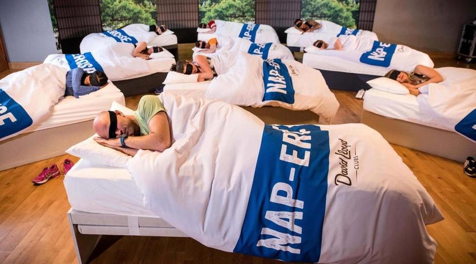 Aulas de soneca foram criados para mães e pais cansados (Foto: Divulgação)