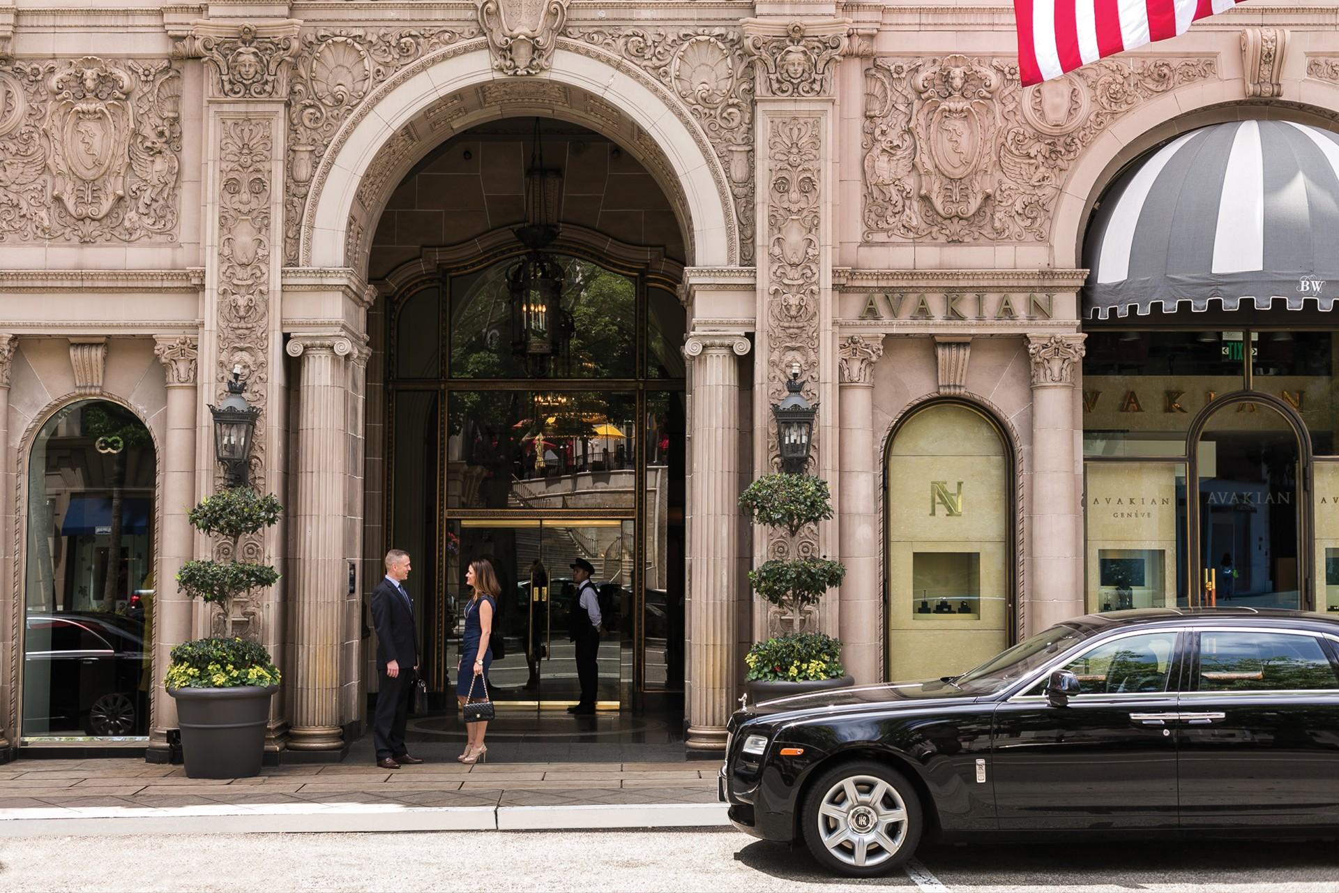 """No Beverly Wilshire, um hotel da rede Four Seasons, é possível viver como """"Uma Linda Mulher"""" (Foto: Divulgação)"""