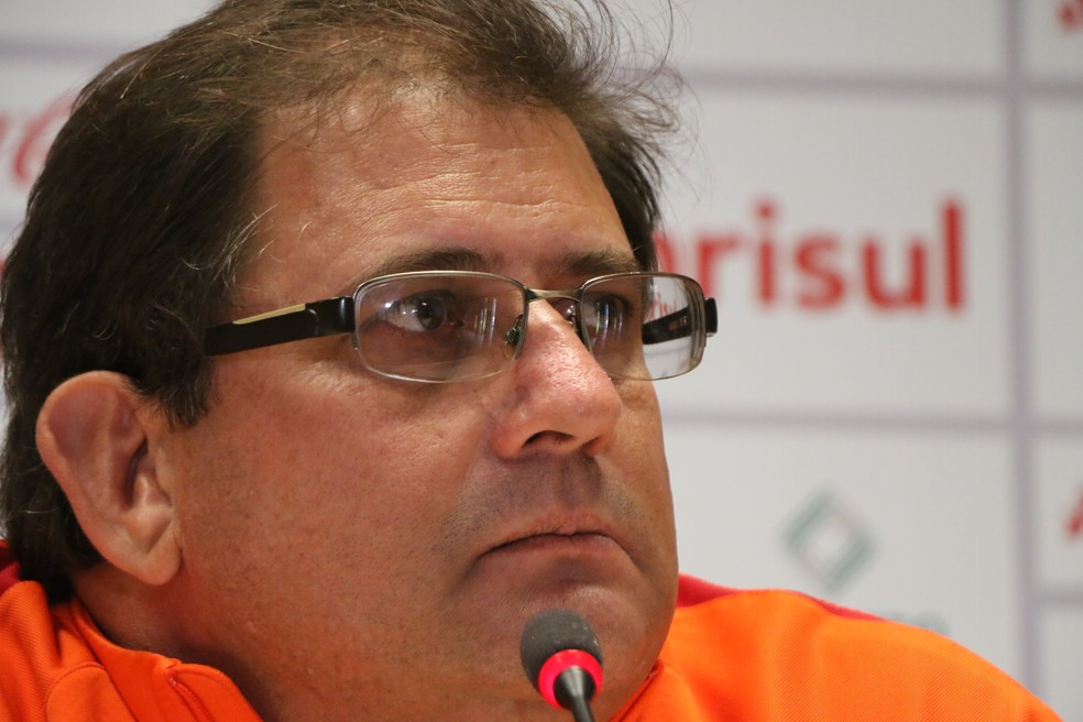 Guto Ferreira foi demitido do Internacional a três rodadas do término da Série B (Foto: Eduardo Deconto)