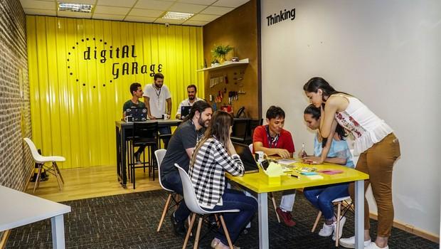 Laboratório de inovação da Algar Tech (Foto: Divulgação)