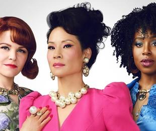 Ginnifer Goodwin, Lucy Liu, e Kirby Howell-Baptiste em 'Por que as mulheres matam?' | CBS