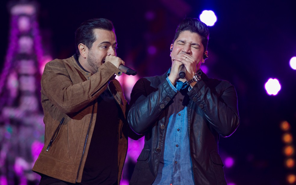 Dupla Henrique e Diego (Foto: Mateus Rigola/G1)