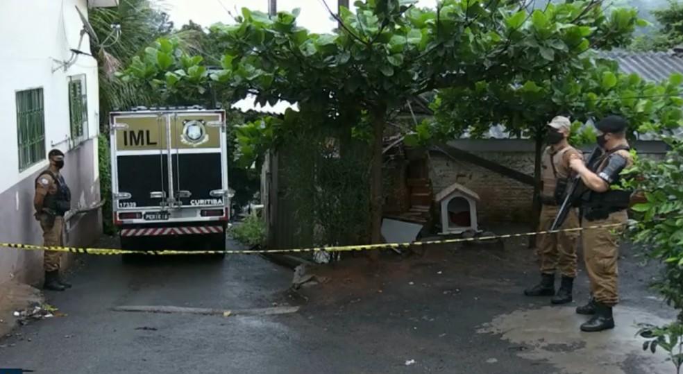 Homem morreu baleado após reagir a abordagem policial, em Foz do Iguaçu — Foto: Reprodução/RPC