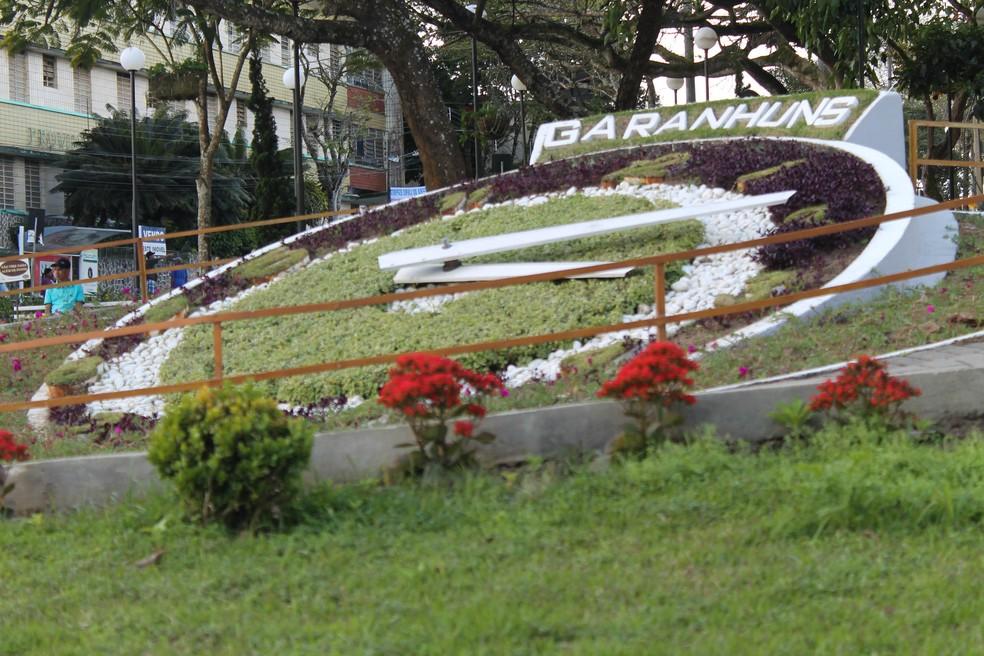 Relógio das Flores em Garanhuns (PE) — Foto: Camila Queiroz/Divulgação