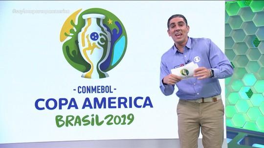 Soy Loco por Copa América: Adnet imita Daronco no VAR Show e cria o Steward da Rodada